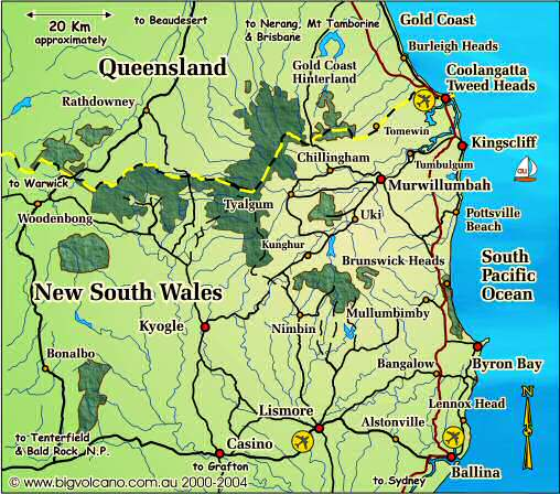 clickable locality map for the ballina byron bay tweed. Black Bedroom Furniture Sets. Home Design Ideas